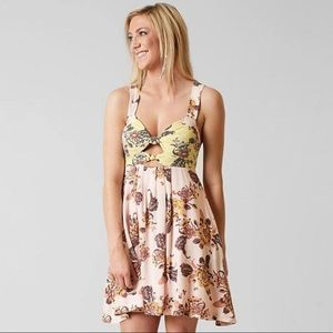 Free People Ivory Combo mini dress from the Buckle